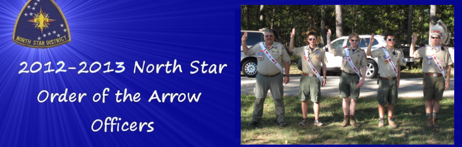 2012-2013 North Star Chapter Officers Were elected in September 2012
